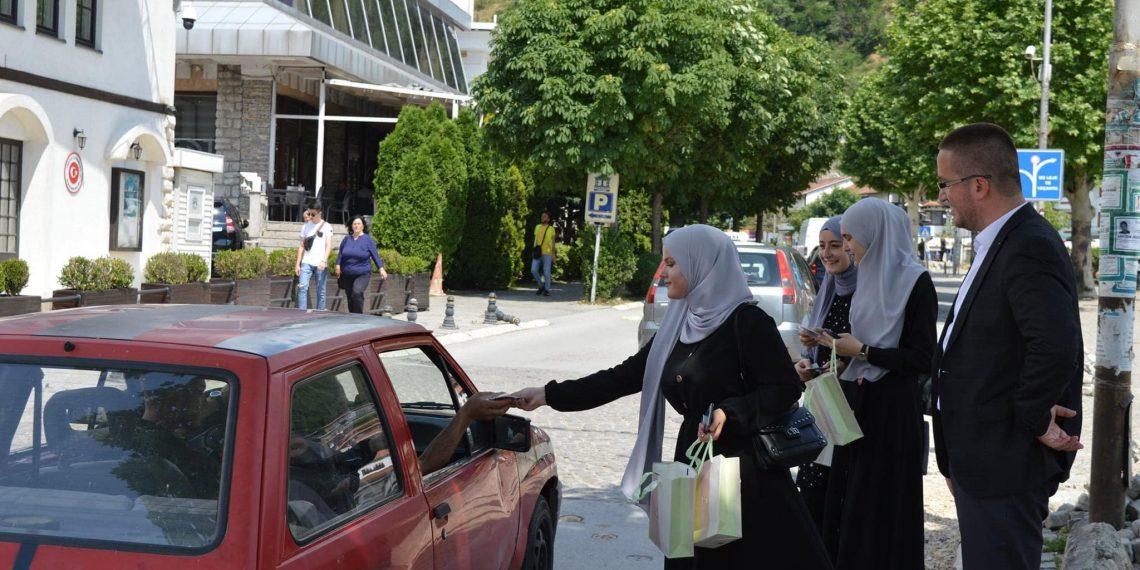 KBI në Prizren me aktivitet sensibilizues për sigurinë në trafik