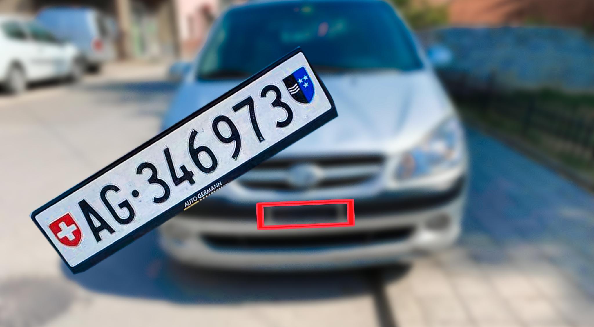 Mërgimtarit prizrenas i humbin targat zvicrane të veturës, kërkon ndihmë për gjetjen e tyre